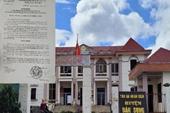 Kỷ luật khiển trách nguyên Chánh án, Phó Chánh án và Thẩm phán TAND huyện Đắk Song