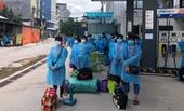Hàng chục ngàn công nhân bắt đầu rời Bắc Giang về địa phương