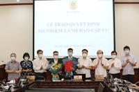 Báo Pháp luật Việt Nam có 2 tân Phó Tổng Biên tập