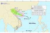 Áp thấp nhiệt đới mạnh lên thành bão số 2 hướng vào Vịnh Bắc Bộ