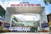 Bệnh viện K Tân Triều chuẩn bị đón người đến khám, chữa bệnh trở lại