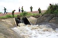 Chi nhánh Công ty CP Xây dựng số 1 Lâm Đồng bị xử phạt vì xả bẩn ra môi trường