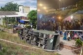 Xe quân đội gặp tai nạn, 2 người thương vong