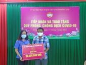 VKSND tỉnh Đồng Tháp ủng hộ Quỹ vắc xin phòng, chống dịch COVID-19