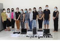 Huy động 150 cảnh sát phá đường dây lô đề lớn nhất tỉnh Quảng Bình