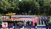 Lễ đón chính thức Tổng Bí thư, Chủ tịch nước Lào Thongloun Sisoulith