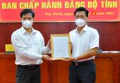 Ông Nguyễn Mạnh Hùng được chuẩn y giữ chức Phó Bí thư Tỉnh ủy Tây Ninh