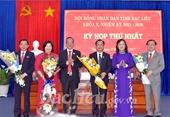 Bạc Liêu, Kiên Giang, Tây Ninh kiện toàn nhân sự HĐND, UBND tỉnh