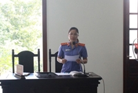 VKSND tỉnh Bình Phước phối hợp tổ chức phiên tòa rút kinh nghiệm vụ án hình sự
