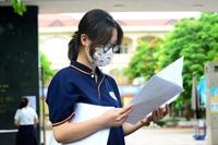 Các thí sinh thực hiện nghiêm quy định 5K trong ngày đầu thi tốt nghiệp THPT
