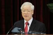 Phát biểu bế mạc Hội nghị Trung ương 3, khóa XIII của Tổng Bí thư Nguyễn Phú Trọng