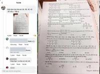 Tung đề lên mạng nhờ giải, 1 học sinh bị đình chỉ thi