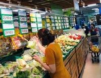 TP Hồ Chí Minh Hàng hóa, nhu yếu phẩm đầy ắp trong siêu thị