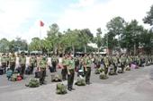 Hơn 250 học viên ANND ra quân hỗ trợ Bình Dương và Long An phòng chống dịch