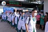 """Đoàn y, bác sĩ trẻ Bình Thuận xuất quân """"chia lửa"""" với vùng dịch TPHCM"""