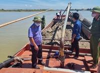 VKSND tỉnh Nghệ An kiểm sát khám nghiệm hiện trường vụ khai thác cát trái phép
