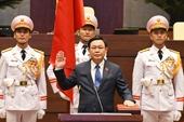Lễ Tuyên thệ của Chủ tịch Quốc hội Vương Đình Huệ