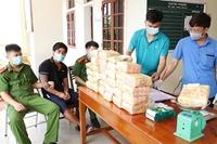 Hà Tĩnh Thu giữ 31kg ma túy đá, 12 000 viên ma túy tổng hợp