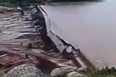 Kinh hoàng khoảnh khắc vỡ đập hồ chứa nước ở Nội Mông, Trung Quốc
