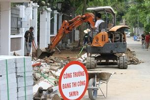 Dừng tất cả các công trình xây dựng trong thời gian giãn cách ở Hà Nội