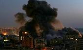 Israel không kích Dải Gaza với cáo buộc Hamas thả bóng bay gây cháy