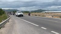 CSGT Đà Nẵng dẫn đường, tiếp sức đoàn xe máy từ các tỉnh phía nam về quê