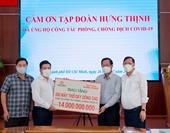 Tập đoàn Hưng Thịnh hỗ trợ hàng chục tỉ đồng cho TP HCM chống dịch COVID-19