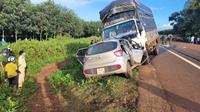 3 người tử vong tại chỗ, sau khi 2 xe ô tô đối đầu kinh hoàng ở Gia Lai