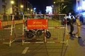Đường phố TP HCM đêm đầu tiên người dân không ra đường