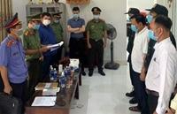 Giám đốc và Phó Giám đốc Cảng hàng không quốc tế Phú Bài bị bắt để điều tra tội tham ô tài sản