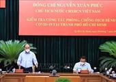Chủ tịch nước Nguyễn Xuân Phúc Giãn cách phải gắn chặt với việc chăm lo đời sống cho người dân