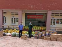 VKSND tỉnh Bình Phước ủng hộ 1 tấn gạo phòng chống dịch COVID-19