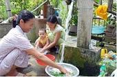 Phó Thủ tướng yêu cầu giảm giá tiền sử dụng nước sạch sinh hoạt cho người dân