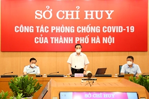 TP Hà Nội thực hiện 4 biện pháp cấp bách phòng, chống dịch COVID-19