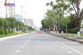 Phố phường Đà Nẵng vắng vẻ trong ngày đầu giãn cách xã hội theo Chỉ thị 16