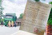 Vụ TNGT khiến nữ giáo viên ở Hương Sơn tử vong Phê chuẩn khởi tố tài xế xe đầu kéo