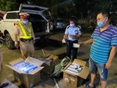 Phát hiện người Trung Quốc vận chuyển hơn 600 hộp thuốc tân dược không nguồn gốc