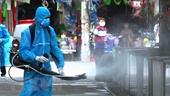 Đề nghị không phun hóa chất khử khuẩn diệt SARS-CoV-2 ngoài trời, vào người