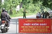 Ngày 3 8, Hà Nội xử phạt hơn 1 400 trường hợp vi phạm giãn cách xã hội