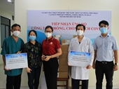 Hiệp hội Thương mại Mỹ trao tặng 10 máy đo oxy phục vụ công tác phòng, chống dịch COVID-19