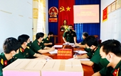 VKSQS Quân khu 7 kiểm tra công tác phòng, chống dịch COVID-19 tại các đơn vị