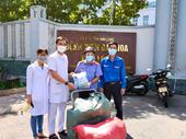 Tuổi trẻ VKSND tỉnh Vĩnh Long tích cực tham gia công tác phòng, chống dịch COVID-19