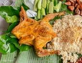 Gà nướng chấm muối cheo Quảng Bình