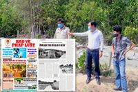 Huyện Hòa Vang mời Báo Bảo vệ pháp luật phối hợp cung cấp thông tin xử lý tình trạng xây nhà trái phép
