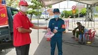 Bếp cơm 0 đồng Chữ thập đỏ Đà Nẵng hỗ trợ hàng nghìn suất ăn tại khu phong tỏa mỗi ngày