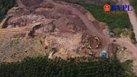 Quảng Ninh Doanh nghiệp được phép thăm dò khoáng sản nhưng lại phá đồi rừng, khai thác đất đem đi bán