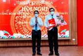Bí thư Thành ủy Nha Trang giữ chức Trưởng ban Tuyên giáo Tỉnh ủy Khánh Hòa