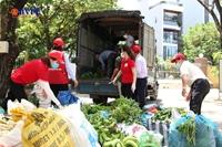 Nông dân Hoà Vang gửi 6 tấn nông sản hỗ trợ vùng phong tỏa