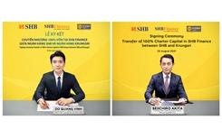 SHB sẽ chuyển nhượng 100 vốn tại SHB Finance cho Krungsri – thành viên chiến lược thuộc Tập đoàn MUFG – Nhật Bản
