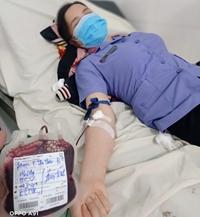 Cán bộ, công chức VKSND tỉnh Đắk Nông hiến máu cứu người giữa mùa dịch
